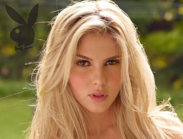 """Veja foto inédita da """"Playboy"""" de Bárbara Evans, capa da revista de"""