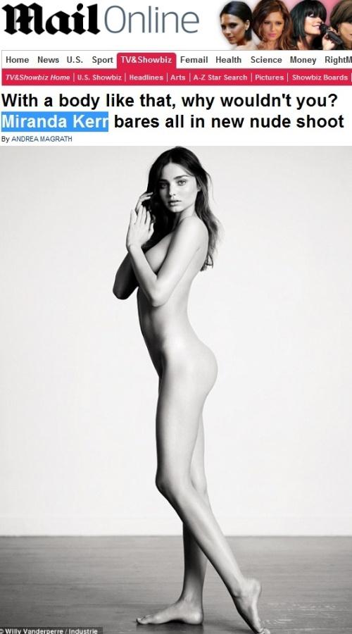 Modelo Australiana Miranda Kerr Uma Das Angels Da Grife Vicrtoria S