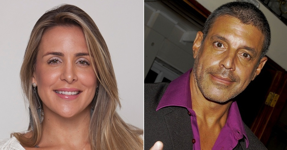 Joana Machado e Alexandre Frota, que se enfrentam no tribunal (2010/2011)