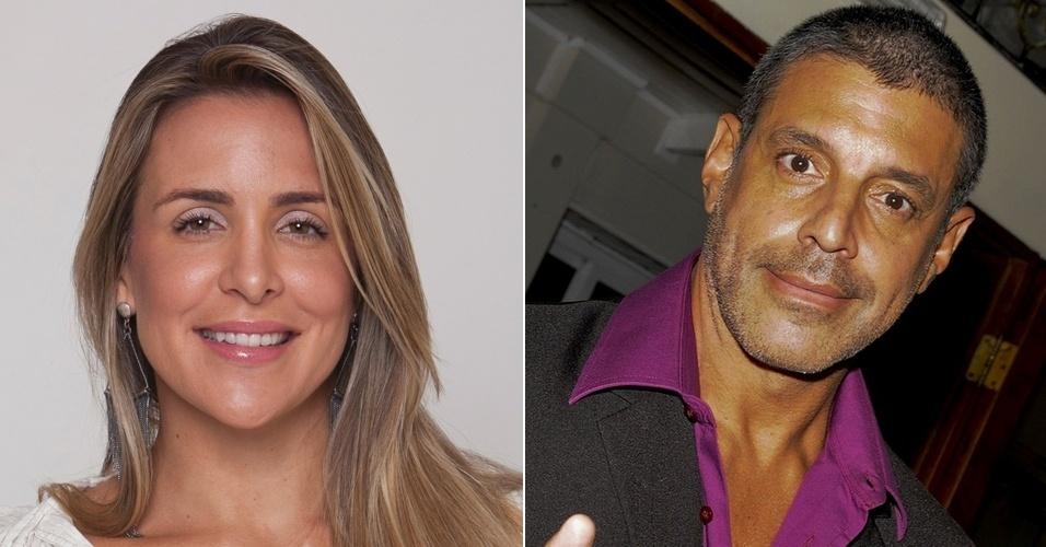 Joana Machado e Alexandre Frota, que se enfrentam no tribunal (2010/2011)