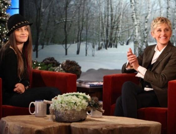 A filha de Michael Jackson, Paris Jackson, participa do