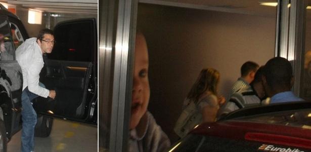 A cantora Wanessa e o marido Marcus Buaiz dão entrada em uma maternidade em São Paulo. Ela vai dar à luz o primeiro filho do casal, que vai se chamar José Marcus (5/1/12)