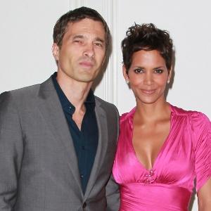 Ator francês Olivier Martinez e a atriz Halle Berry