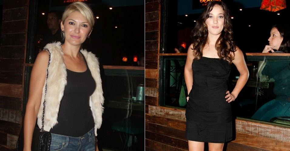 Adriana Birolli e Antonia Fontenelle se encontram após confusão (11/1/12)
