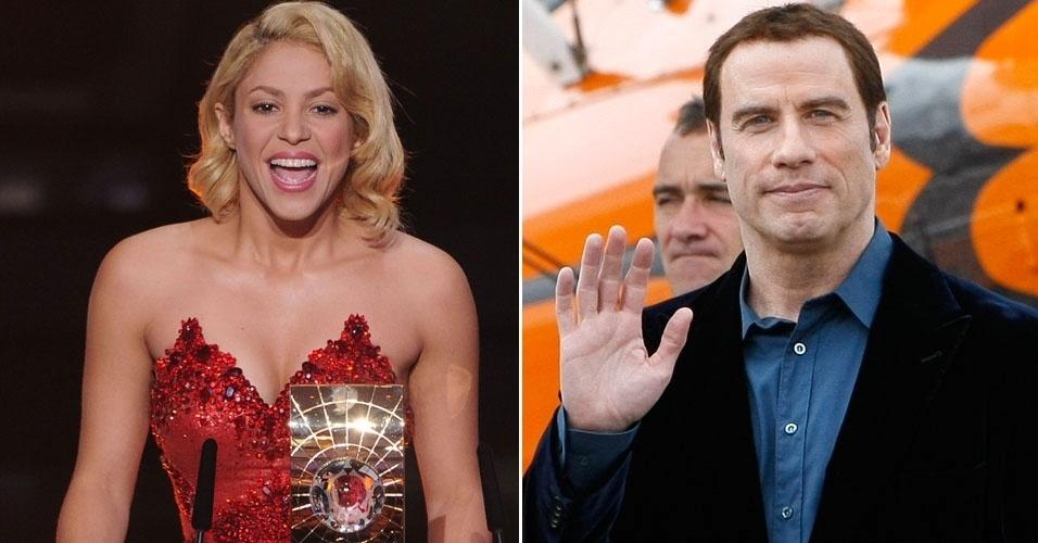 Shakira e John Travolta são convidados para desfilar no Carnaval do Rio de Janeiro