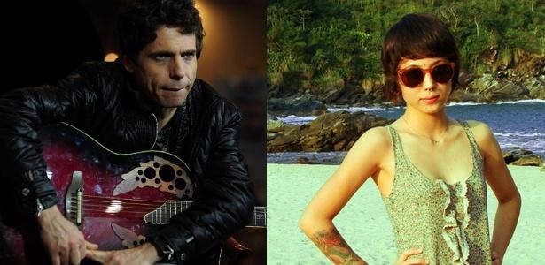 Hudson em show em São Paulo e a filha Letícia Higa em foto publicada em rede social