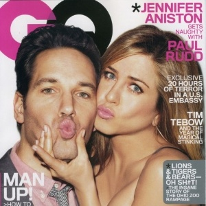 Jennifer Aniston e Paul Rudd na capa da 