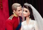 William em Kate viram bonecos da coleção Barbie - AFP