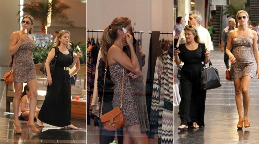 Grazi Massafera passeia em shopping da zona sul do Rio (25/1/12)