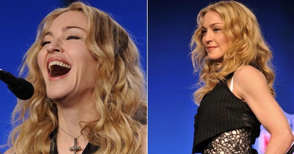 Madonna disse que irá realizar um sonho quando se apresentar no próximo domingo (5/2) no intervalo do jogo de futebol americano Super Bowl, e admitiu que está se sentindo pressionada por cantar diante de uma plateia televisiva tão grande (2/2/12)