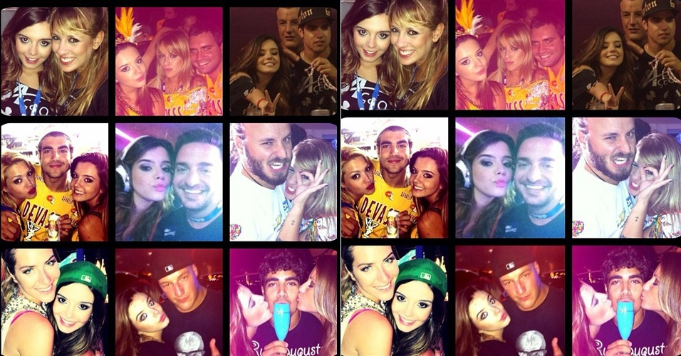 No Twitter, Giovanna Lancellotti posta foto do resumo do seu Carnaval (23/2/12)