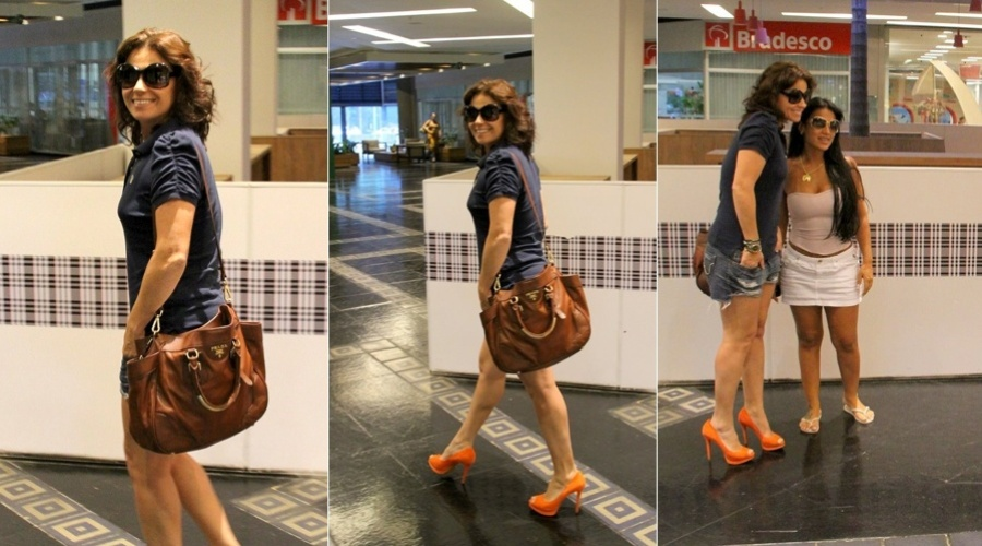 Giovanna Antonelli passeia em shopping do Rio (2/3/2012)