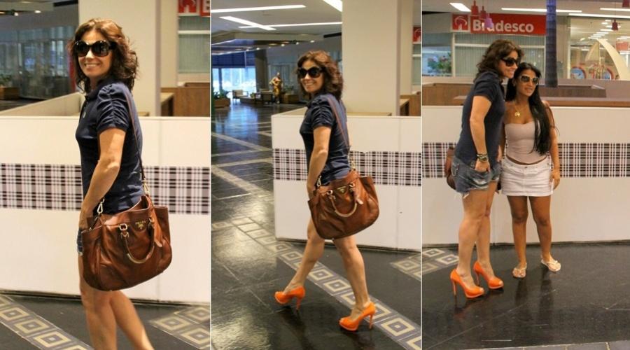 Giovanna Antonelli passeia em shopping do Rio (2/3/2012)