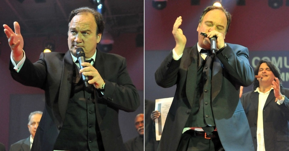 O ator James Belushi participa do Festival del Habano, em Havana, Cuba. O festival promove o charuto cubano, famoso ao redor do mundo por sua qualidade. Belushi entregou um pr&#234;mio no festival e tocou gaita no palco (3/3/12)
