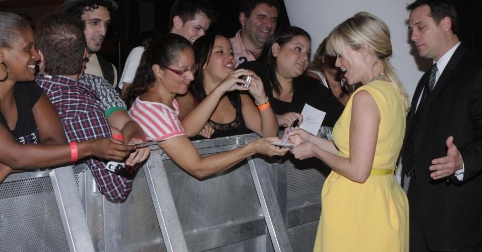 "Reese Whitherspoon no tapete vermelho do filme ""Guerra é Guerra"" no Cinépolis Lagoon na Lagoa no Rio (8/3/12)"