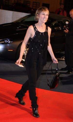 Deborah Colker em evento do príncipe Harry no Rio (9/3/12)