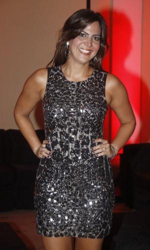 A aniversariante Carol Sampaio em sua festa de 30 anos no Copacabana Palace, no Rio de Janeiro (15/3/12)