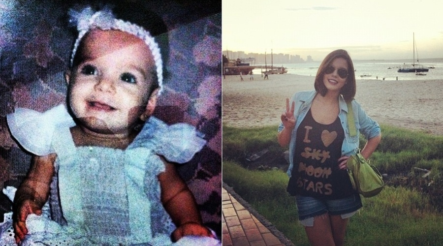 Giovanna Lancellotti mostra foto de quando era bebê (20/3/2012)