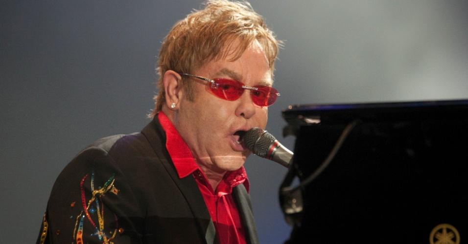 08 Show de Elton John no palco Mundo no Rock in Rio 2011, no Rio de Janeiro. (Foto: Danilo Verpa/Folhapress, ILUSTRADA)