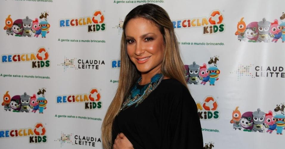 Claudia Leitte durante o evento em São Paulo (22/3/2012)