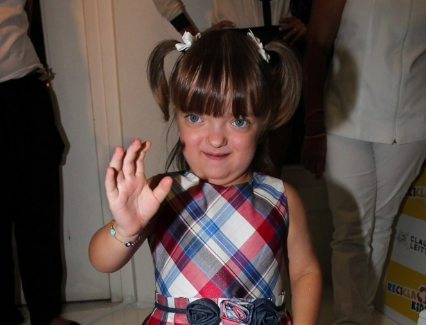 Rafaella Justus é filha da apresentadora Ticiane Pinheiro e do empresário Roberto Justus . A menina prestigiou o evento de uma marca infantil, em São Paulo (22/3/2012)