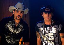 A dupla Edson e Hudson, que vai se separar no final de 2009