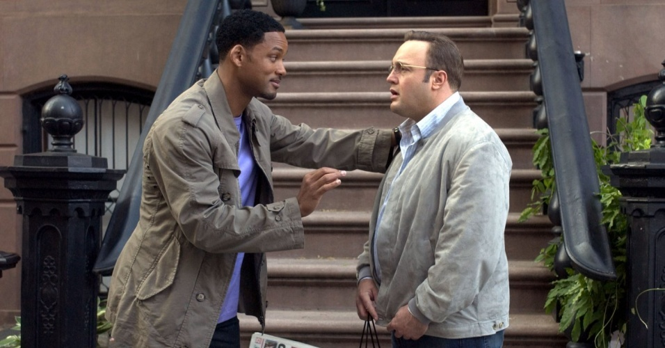 Will Smith e Kevin James em cena do filme 
