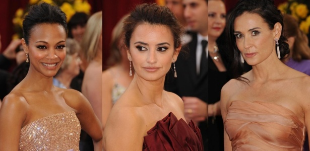 Atrizes no tapete vermelho do Oscar 2010