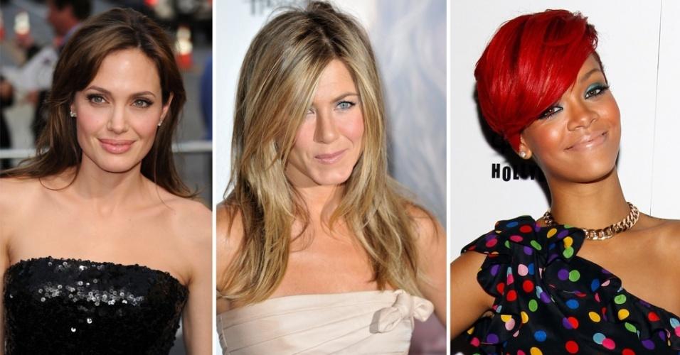 Angelina Jolie, Jennifer Aniston e Rihanna estão entre as mais bem vestidas da semana de 17 a 22 de julho de 2010