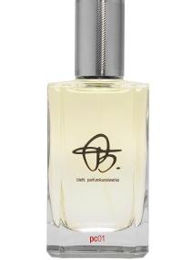 Frasco do perfume PC01 de Biehl Parfumkunstwerke