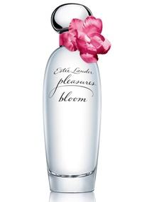 Frasco do perfume Pleasures Bloom da Estee Lauder