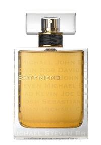 Frasco do perfume Boyfriend, assinado pela atriz Kate Walsh