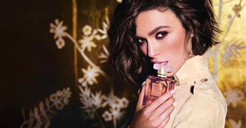 Maro: Keira Knightley estrela a nova campanha do perfume Coco Mademoiselle, da Chanel, que ser lanada em 1 de abril. Embaixadora da fragrncia desde 2007, ela ser substituda por Kate Moss, para o anncio de comemorao de 10 anos do perfume