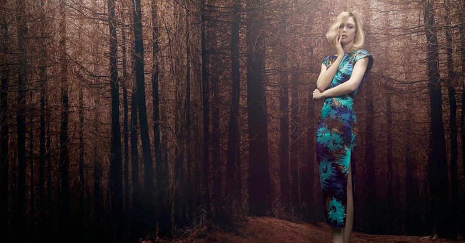 Abril 2011: A top brasileira Raquel Zimmermann faz nova campanha para a ABrand, marca premium da Animale, no Inverno 2011. As fotos foram tiradas por Henrique Gendre, a direção criativa é de Luis Fiod e a beleze ficou a cargo de Max Weber
