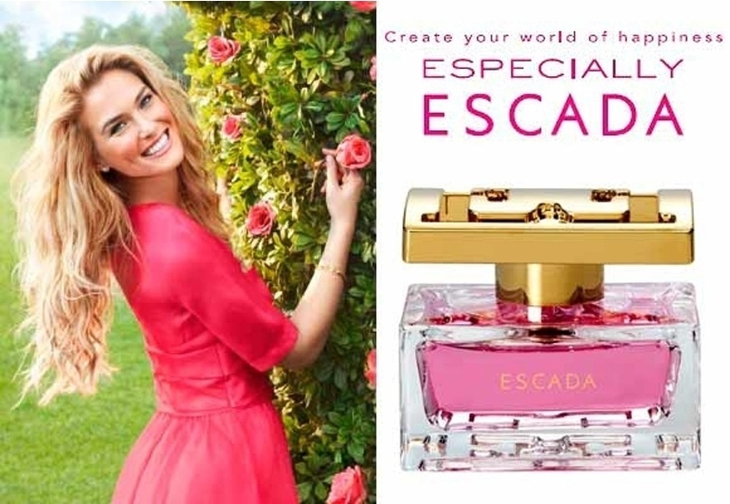 Maio 2011: Bar Refaeli  o rosto da campanha de Vero 2011 do perfume Especially Escada