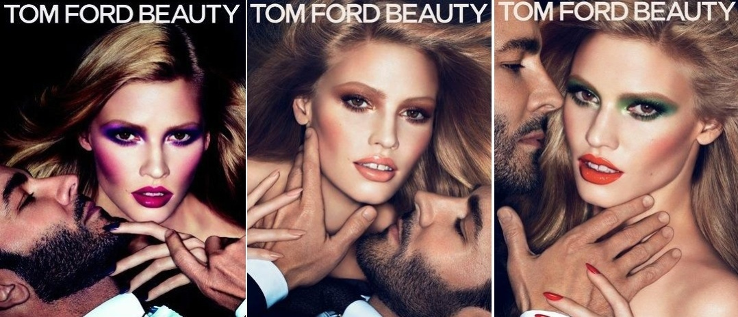 Junho 2011: Lara Stone foi escolhida por Tom Ford para, ao seu lado, estrelar as trs fotos de Mert Alas and Marcus Piggott que compem a campanha de inverno 2011 (hemisfrio norte) de sua linha de maquiagens