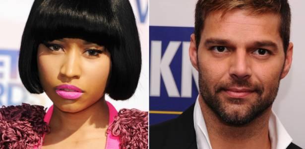Os cantores Nicki Minaj e Ricky Martin anunciados como os novos porta-vozes da campanha M.A.C Viva Glam