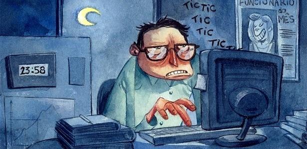 Trabalhar até altas horas lhe dá fama de pessoa trabalhadora, mas não necessariamente competente