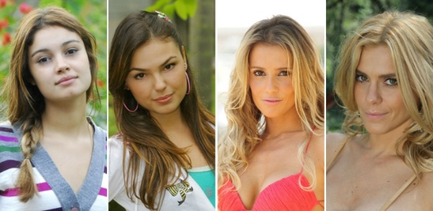 As personagens Stéfany (Sophie Charlotte), Rakelli (Isis Valverde), Natalie (Deborah Secco) e Teodora (Carolina Dieckmann) têm muito a ensinar