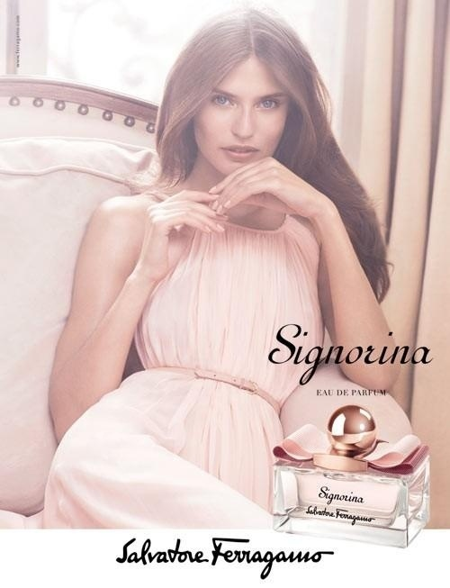 Outubro: Bianca Balti foi a escolhida da marca Salvatore Ferragamo para estrelar a nova campanha do perfume Signorina. A foto  de Mikael Jansson, com edio de moda de Anastasia Barbieri e cabelo feito por Anthony Turner