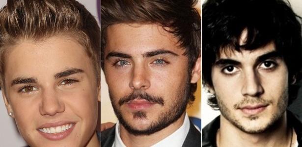 Op��es de cortes de cabelo para o Hora H; Justin Bieber, Zac Efron e Fiuk