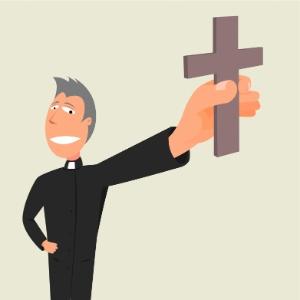Clérigos encabeçam a lista dos mais felizes