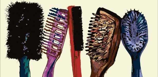 No mercado há inúmeros modelos de escovas; você sabe como escolher o tipo ideal para seus fios?