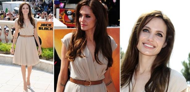 Angelia Jolie em look usado no festival de Cannes 2011 (12/05/2011)