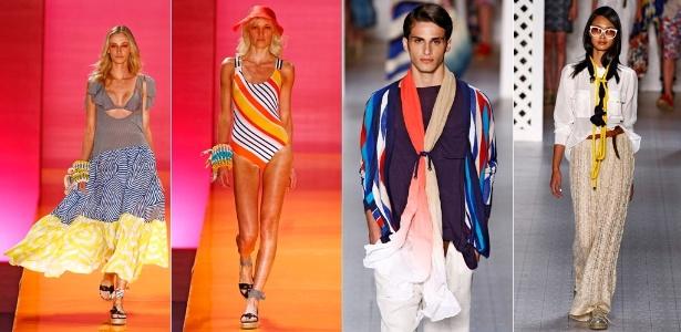 Looks de Salinas e Totem para o Verão 2012 desfilados no Fashion Rio (31/05/2011)
