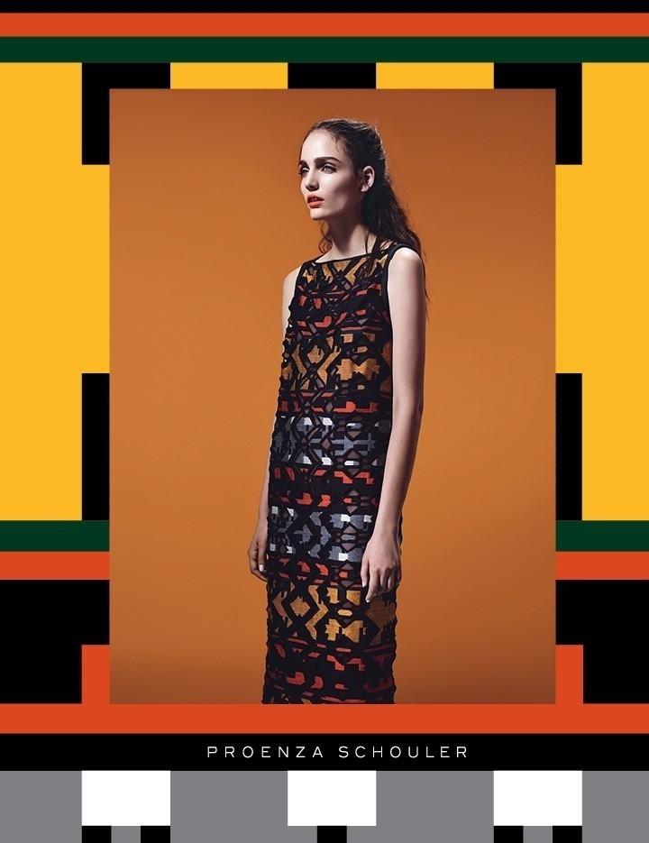 Julho 2011: A campanha de Inverno 2011 da Proenza Schouler conta com o fotógrafo Willy Vanderperre clicando a modelo Zuzanna Bijoch