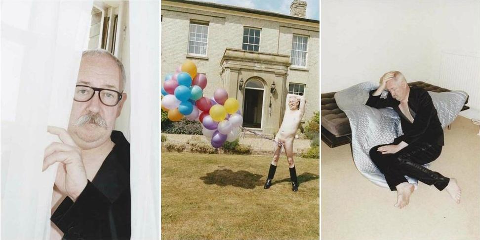 Julho 2011: A Marc Jacobs que sempre lança campanhas polêmicas, com personalidades em situações bizarras, traz o artista britânico Cerith Wyn Evans fotografado por Juergen Teller