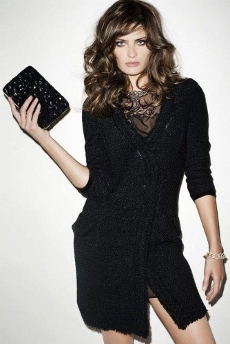 Agosto 2011: Isabeli Fontana posou para as lentes do fotógrafo Terry Richardson para a campanha de Inverno 2011 da Mango