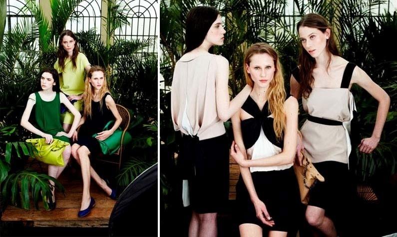 Agosto 2011: As modelos brasileiras Alicia Kuczman, Natália Bilesky e Fabiana Mayer estrelam a campanha de Verão 2012 da Alcaçuz. As fotos são assinadas por Fabio Bartelt, a beleza por Ricardo dos Anjos e o styling por Paulo Martinez
