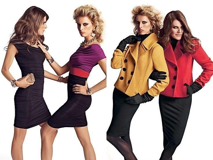 Agosto 2011: A modelo  Karolina Kurkova posou ao lado da editora da